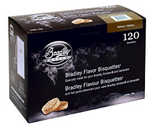 Bradley Hickory Bisquettes 120 pack Smoking Smoker Wood Chips FREE SHIPPING, NEW