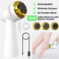 Electric Vacuum Adsorption Foot Grinder File Callus Dead Skin Remover Machine US