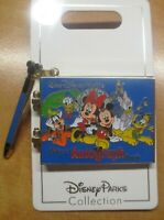 NEW Walt Disney World Pin autograph book adorable signed by Mickey Minnie & gang
