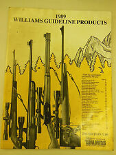 1989 Williams Guideline Products How to Customize Rifles & Firearms Price Guide