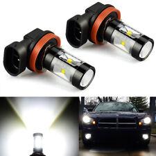 JDM ASTAR 2pcs 30W H11 High Power CREE Xenon White LED Fog DRL Lights Bulbs Lamp