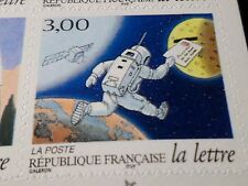 FRANCE 1998, timbre AUTOADHESIF 3161, LETTRE, neuf**, COSMONAUTE, MNH STAMP