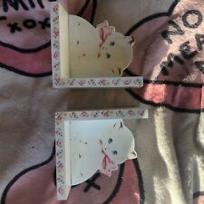 Sass and Belle Kitten Book ends - Childrens Bedroom, Vintage Retro Style