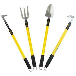 "Telescopic Extendable Garden Tools Fork Spade Cultivator Weeder 25"" – 37"""