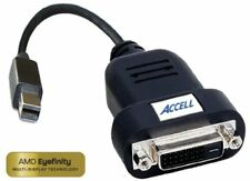 Accell Mini DisplayPort to DVI-D Single-Link Adapter - AMD Eyefinity Certified