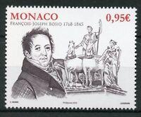 Monaco 2018 MNH Francois-Joseph Bosio Sculptor 1v Set Art Sculpture Stamps