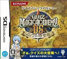 Used DS  Quiz Magic Academy DS: Futatsu no Jikuu Koku NINTENDO JAPANESE IMPORT