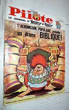 PILOTE EO N°413 21/09 1967 PILOTORAMA PREHISTOIRE HUBUC GREG ASTERIX TANGUY GIR