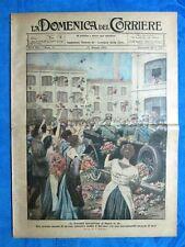 La Domenica del Corriere 27 maggio 1923 Vittorio Emanuele III- Taishuna - Napoli