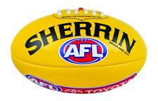 Sherrin AFL Replica Game Ball - Yellow
