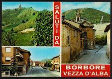 AD0673 Cuneo - Provincia - Saluti da Borbore Vezza d'Alba - Vedute