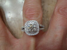 VERA WANG LOVE COLLECTION DIAMOND ENGAGEMENT RING 2.0 CTW 14KW 11,119.RETAIL (3)