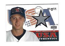 Brent Abernathy 2000 Black Diamond Rookie Edition USA Materials card # 147