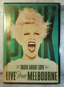 Pink DVD Live Music Concert In Melbourne_21 Tracks