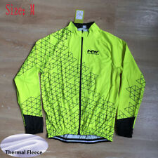 2021 Men Cycling Thermal Fleece Jersey Mtb Bike Tops Long Sleeve Bicycle Shirt M