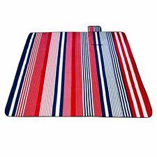 Folding Picnic Blanket Waterproof Rug Mat Pad Handle Camping Sand Beach Durable