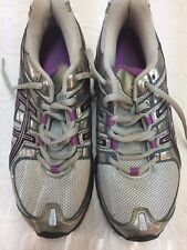 Women's Size 6.5 Silver Asics Gel-Frantic 5 Running Shoes
