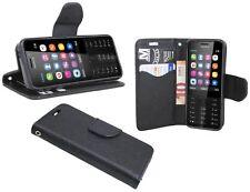 Book Style Funda para móvil Accesorios de Fun DA BOLSO en negro Nokia 230 @ Cofi