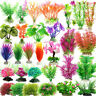 Aquarium Fish Tank Artifical Water Plant Grass Ornaments Decoration Landscaping