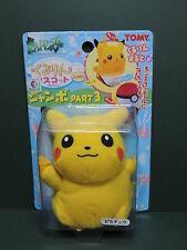 #025 PIKACHU Vintage Japan PELUCHE JUMBO Pokemon Go TOMY soft toy plush Nintendo