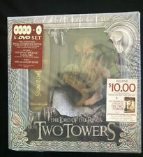 New listing Lord of Rings Two Towers Gollum Statute Unopened Dvd Set