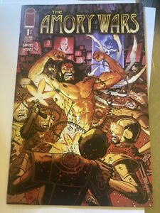 The Amory Wars 1  NM Image Comics First issue!