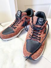 NFN Gourmet Mens Shoes Size 9 Leather Animal Print