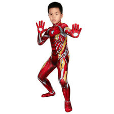 Avengers Iron man Cosplay Kostüm Costume Outfit Kid Kinder Tag Halloween Gift