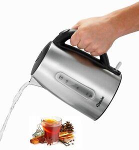 Bartscher Edelstahl Wasserkocher Kabellos 1,7 L Gastro