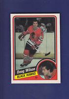 Doug Wilson HOF 1984-85 O-PEE-CHEE OPC Hockey #48 (NM+) Chicago Blackhawks
