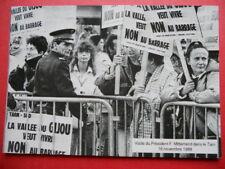 FRANÇOIS MITTERRAND : Visite dans le Tarn le 16 Novembre 1988  Tirage à 300 Ex.