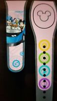 Disney MILLENNIAL PINK EPCOT TEST TRACK Magic Band 2 Magicband Parks NEW RIDE