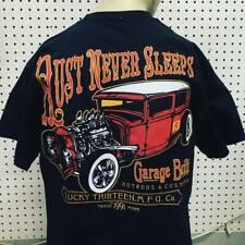 Lucky 13 t-shirt 'Rust Never Sleeps' black size XXL hot rod 1932 ford kustom