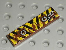RARE LEGO CARS tile 1x4 ref 94859 / Set 8201 8424 8487 8638 8639 8679 9483 ...