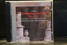 J.S. Bach - Brandenburg Concertos Nos 3, 5, 6 / Harnoncourt