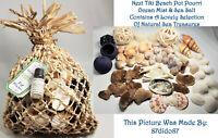 💙 Next Tiki Beach Pot Pourri Collectable Natural Sea Shells Arts Crafts Lot New