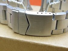 HADLEY ROMA USA STAINLESS STEEL  SOLID CONSTRUCTION WATCH BAND 22MM FITS OYSTER