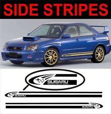 Rayas Laterales Ajuste Subaru Impreza WRX STI