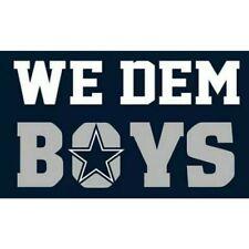Dallas Cowboys We Dem Boys Flag Banner Man Cave Tailgate New 3x5 Ft
