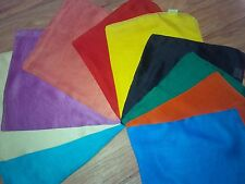 1 x Coloured Silk for Tarot /Oracle Cards / Crystal Ball - choose 1 of 7 colours