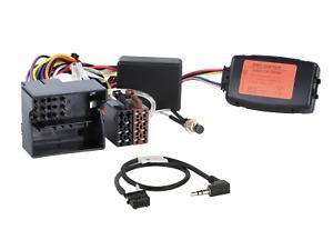 Warntöne für BMW 1er 3 KENWOOD CAN-BUS Lenkradfernbedienung Adapter mit PDC