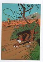 Carte Postale Trésors du Journal de Spirou n°40 Couverture allbum 58. FRANQUIN