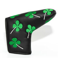 LUCKY Clover Blade Putter Head Cover Golf Headcover for Scotty Cameron Odyssey