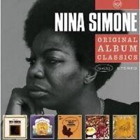"""NINA SIMONE """"ORIGINAL ALBUM CLASSICS"""" NEU 5 CD"""