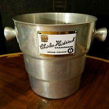 Vintage Art Deco  Wine Champagne Bucket Charles Heidsieck