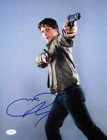 James McAvoy Signed Autographed 11X14 Photo Wanted Pose w/Guns JSA F60869