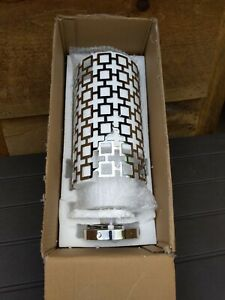 Jonathan Adler PARKER Pendant Polished Nickel S663 Lamp ~ Open Box