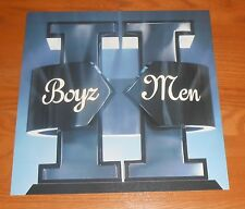 Boys Ii Men Poster 2-Sided Flat Square 1994 Promo 12x12 Mowtown Rare