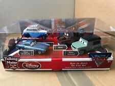 DISNEY STORE CARS 2 - SAVE THE QUEEN DIE CAST SET