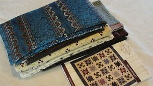 """BROAD STREET Quilt Kit Haversack Collection Audrey Wright Making Legacy 80x80"""""""